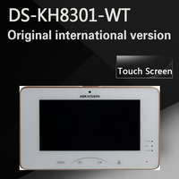 Free Shipping DS KH8301 WT DS KH8301 A English Version Video Intercom Indoor Station With 7