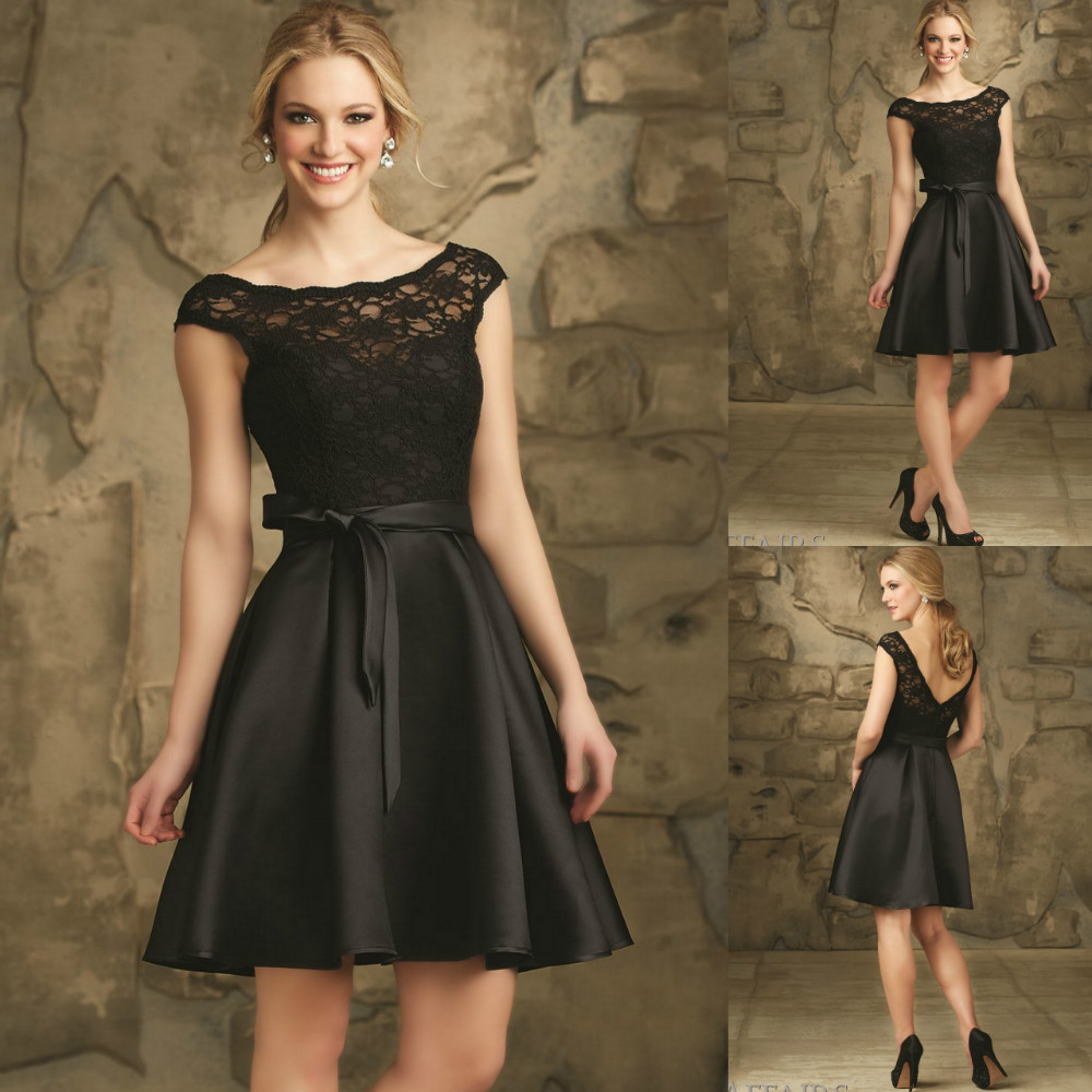 Popular Black Vintage Bridesmaid Dresses-Buy Cheap Black Vintage ...