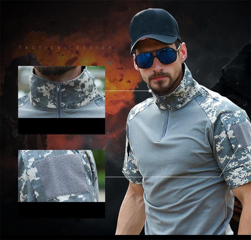 Zxqyh verão camisa masculina de manga curta