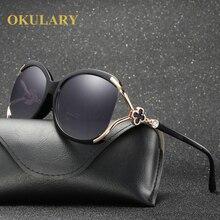 184da09e9 Nova Moda Óculos Polarizados Óculos de Sol Das Mulheres Marca De Luxo de  Design de Grandes Dimensões Óculos de Sol Feminino Eleg.