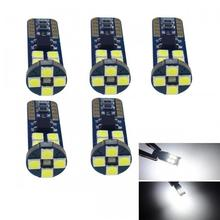 FYSZ CAR T10 LED 3030 4W Cold White Light SMD 12-SMD Car Indicator Lamps Automotive Design (5 PCS)