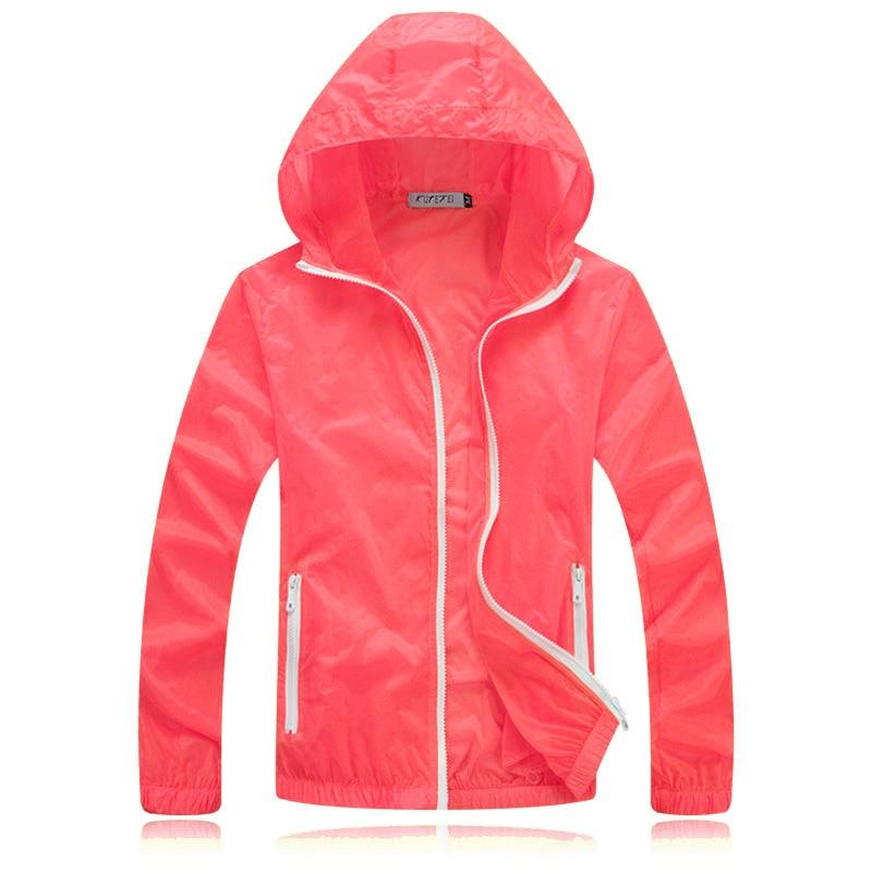 Men's Summer Casual Jackets Hooded Light Anti-UV Women Fashion Jacket Long Sleeve Quick Dry Breathable Couple Trench Coat XAA033