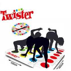 Смешно Twister игра, настольная игра для Семья друг вечерние весело Twister игры для детей весело Настольная игра s