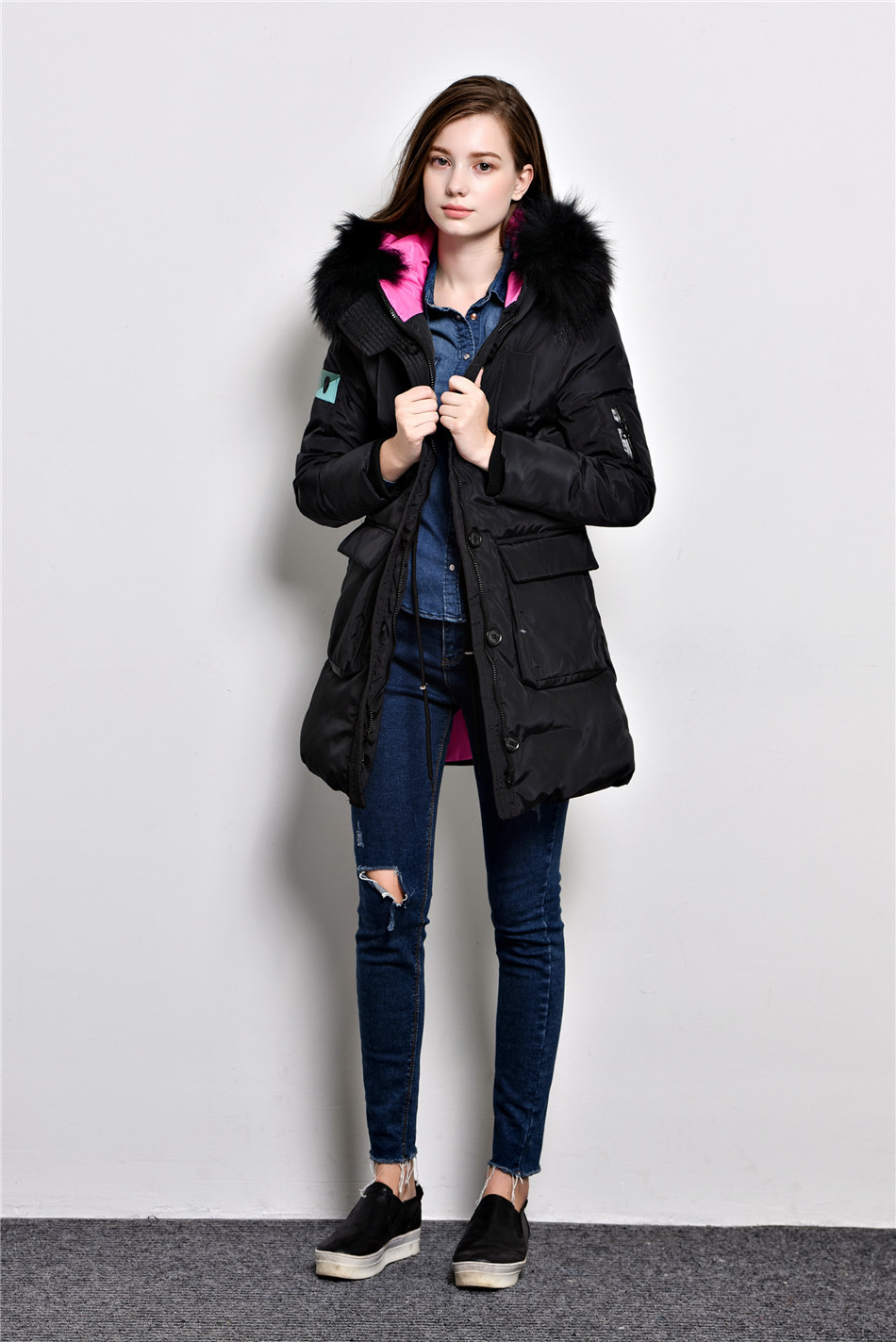 Aliexpress.com : Buy New 2015 Fashion Parkas Winter Female Down ...