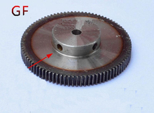 Цилиндрические шестерни 130 Т 130 Зубы Mod 1 М = 1 Отделки отверстие 10 мм Справа Зубы С ЧПУ передач стойки передачи RC автомобиль