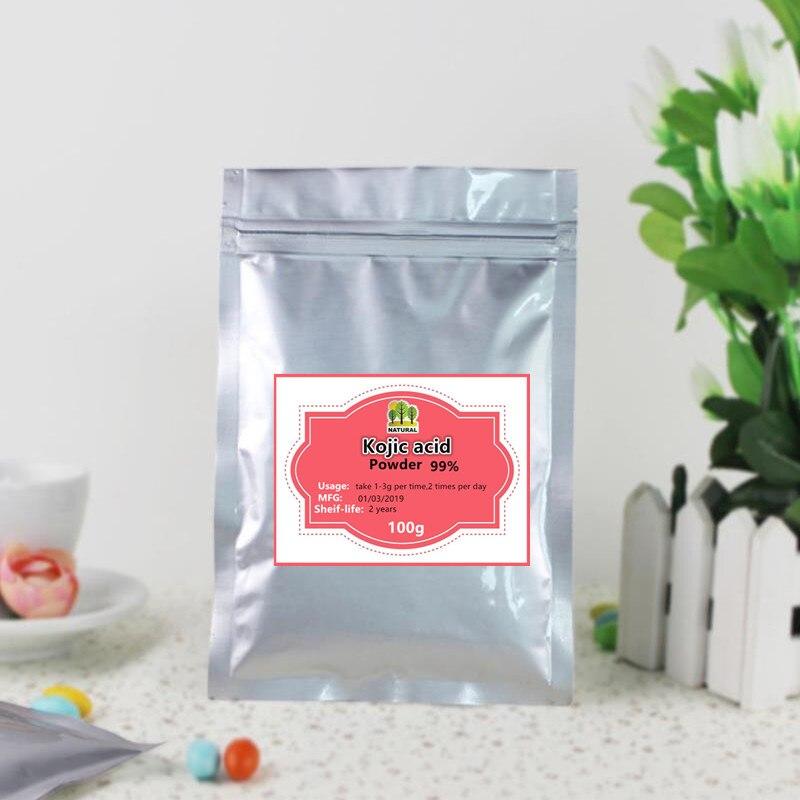 100g-1000g High-quality Pure Kojic Acid 99% Powder,qu Suan,Antioxidant, Inhibiting Skin Melanin,free Shipping