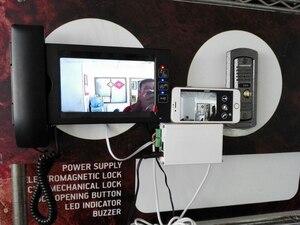 Image 5 - Беспроводной wifi ip бокс поддержка wifi, подключение к кабелю SIP видео телефон двери удаленное разблокирование проводной цифровой домофон системы