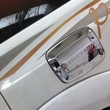 Exterior Car Accessories ABS Chrome Gas Tank Cover Cap For Mitsubishi Pajero Sport 2014