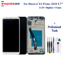 Original 5.7'' For Huawei Y6 Prime 2018 LCD Display ATU-L31 ATU-L42 with Touch Screen Digitizer Assemby Replacement free ship(China)