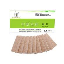 100 шт./лот, игла для иглоукалывания Zhongyan Taihe, одноразовые стерильные иглы для ушей, ушной массажный пластырь, Ушная игла