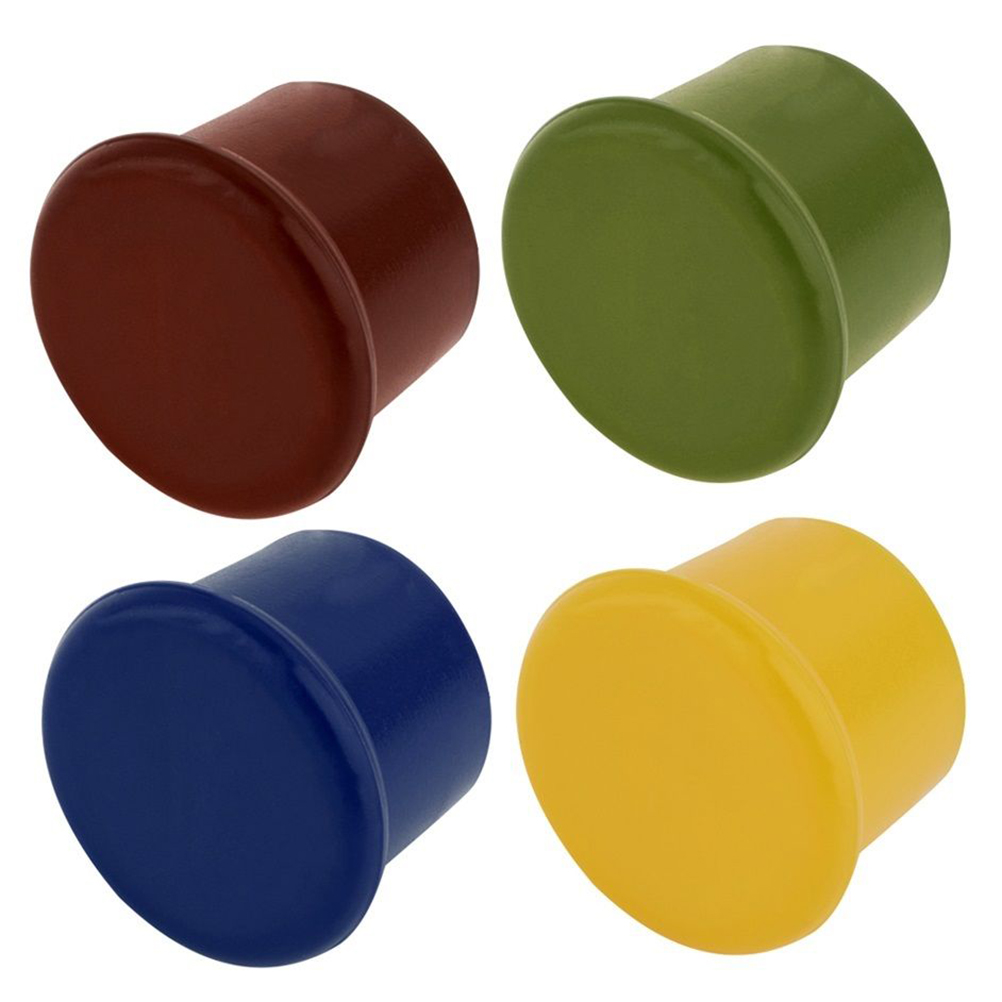 New Silicone Bar Tools Preservation Wine Stoppers Wine Bottle Stopper Kitchen Wine Champagne Stopper Beverage Closures
