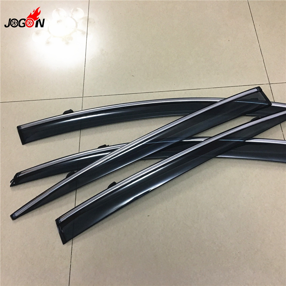 4pcs/set Smoke Sun Rain Visor Vent Window Deflector Shield Guard Shade For Lexus GS Class GS300 GS350 GS450h GS460 2007-2011 side window sun shield visors vent rain wind deflector guard fit for honda civic 2012