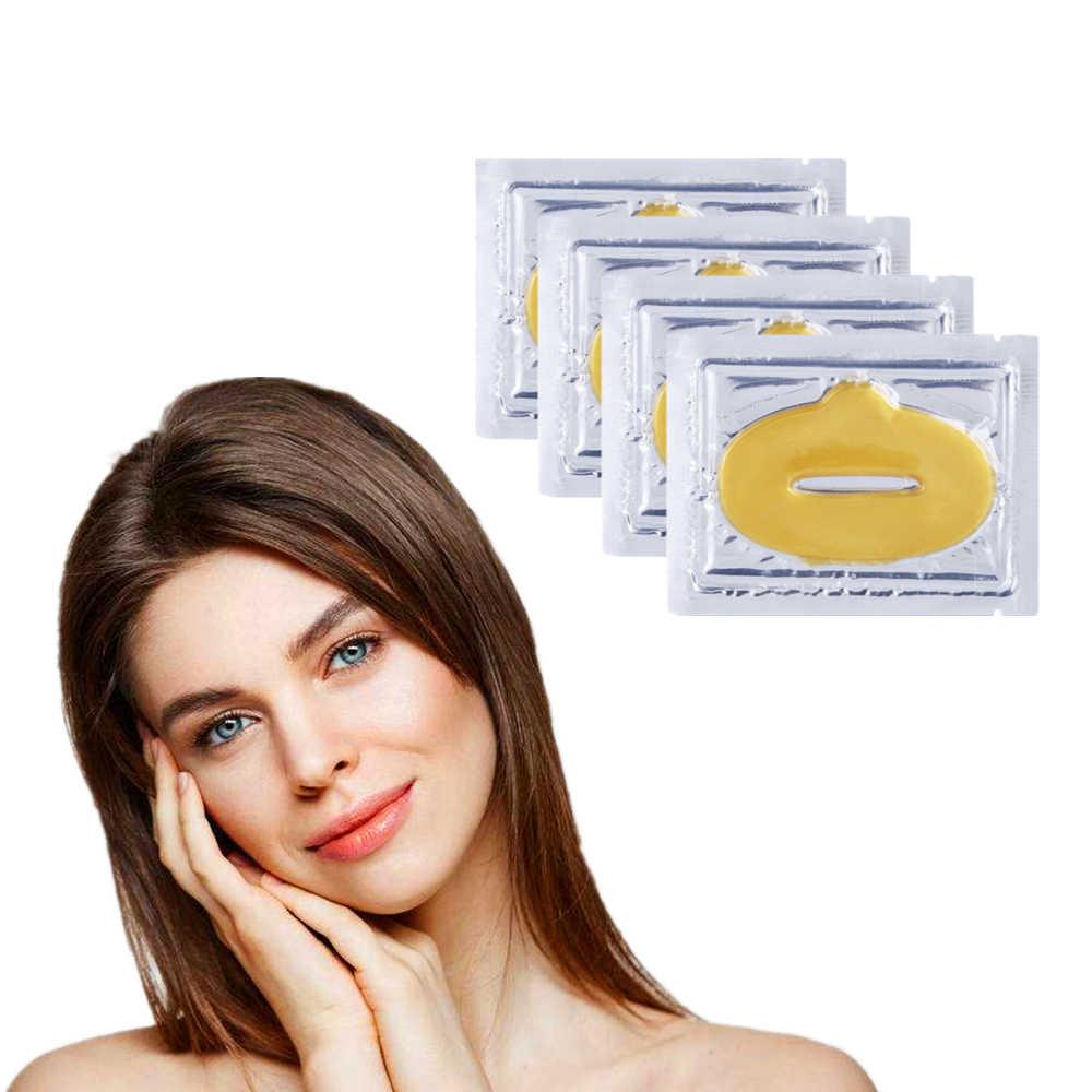 Amor gracias maquillaje cuidado oro colágeno terapia petróleo labio de gelatina máscara cacao Brulee 1 Uds
