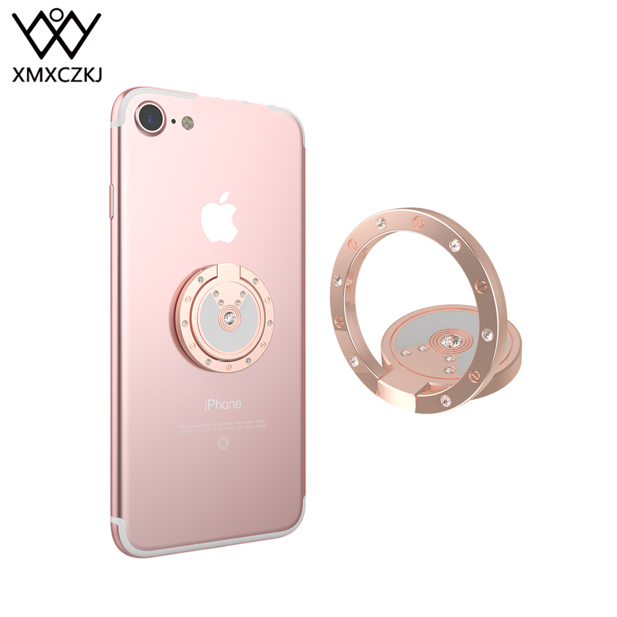 Mobile Phone Accessories Amicable Xmxczkj Desk Finger Ring Cell Mobile Phone Diamond Holder Stand For Iphone Car Magnetic Mount Smartphone 360 Holder Accessories Mobile Phone Holders & Stands