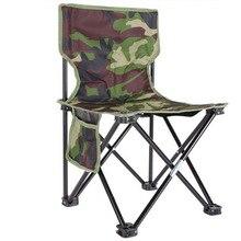Ultra Licht Camping Wandern Klapp Angeln Stuhl Im Freien Camouflage Tragbare Freizeit Picknick Strand Faltbare Stuhl Sitz Hocker