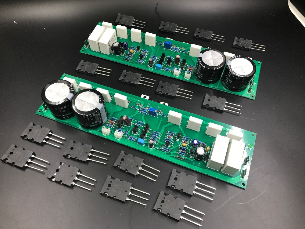 Assembled PR-800 1000W Class A and B professional stage fever 1000W power amplifier board finished board gender power and social class