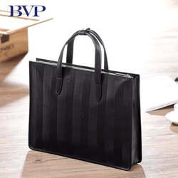 """BVP новый высококачественный деловой портфель для мужчин ts натуральная кожа мужской портфель 15 """"Сумка для ноутбука А4 J30"""