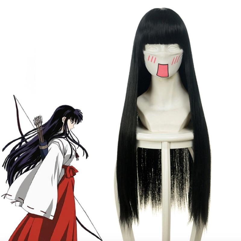 Anime InuYasha Cosplay Wig Kikyou Cosplay Wigs Heat ...