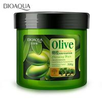 new 500g Hair Care Mask Natural Olive Nutritious Moisturizing Deep Repair Frizz Damaged Dry treatment Smooth Hair Masks
