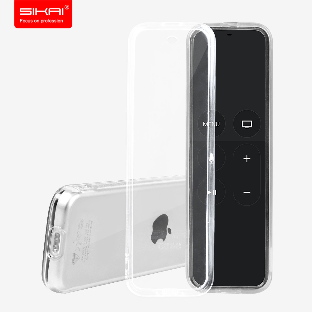 Sikai TPU Protective Case Cover For Apple TV 4th Generation Remote Case for Apple TV 4 Remote Control Case Cover
