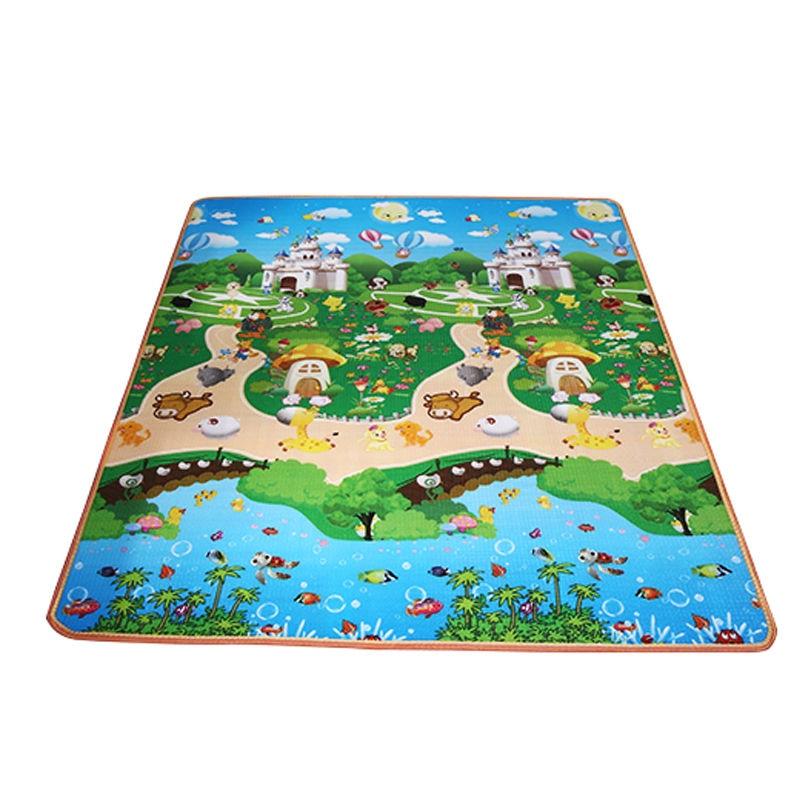 180-120-0-5CM-Duplex-Beach-Mat-Baby-Toy-Game-Play-Mat-Floor-Foam-Mat-For