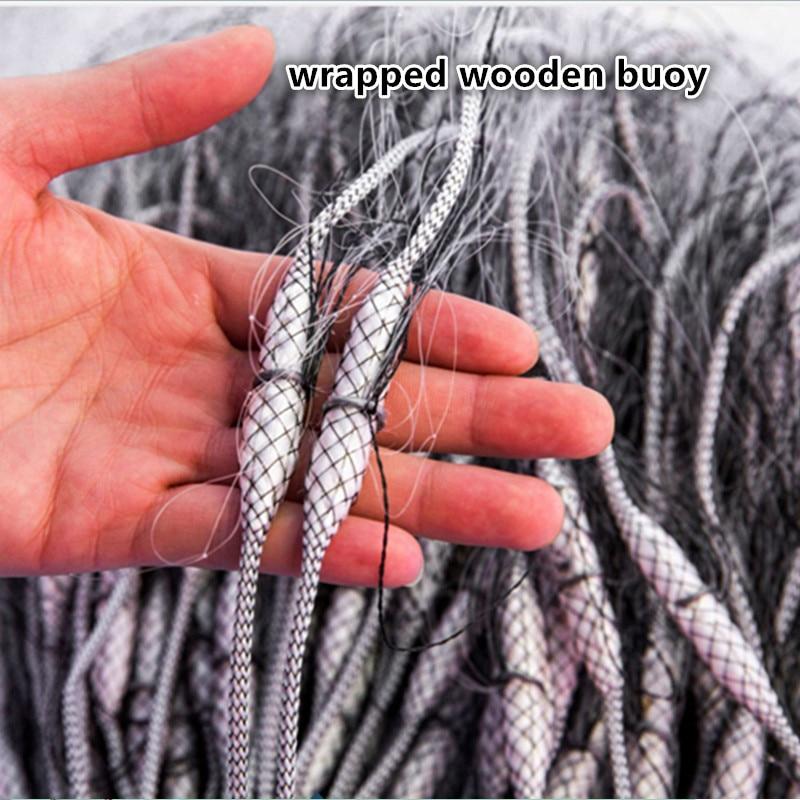 Linha de Rede de Pesca Rodada ao ar Livre 360
