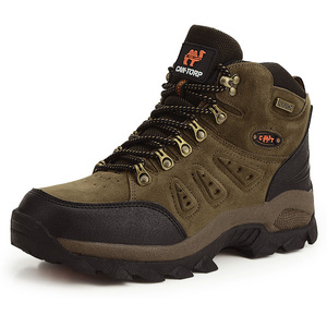 Image 3 - Bjakin 방수 남성 하이킹 신발 가을 겨울 등산 부츠 하이 탑 트레킹 사냥 신발 트레이너 고무 유니섹스