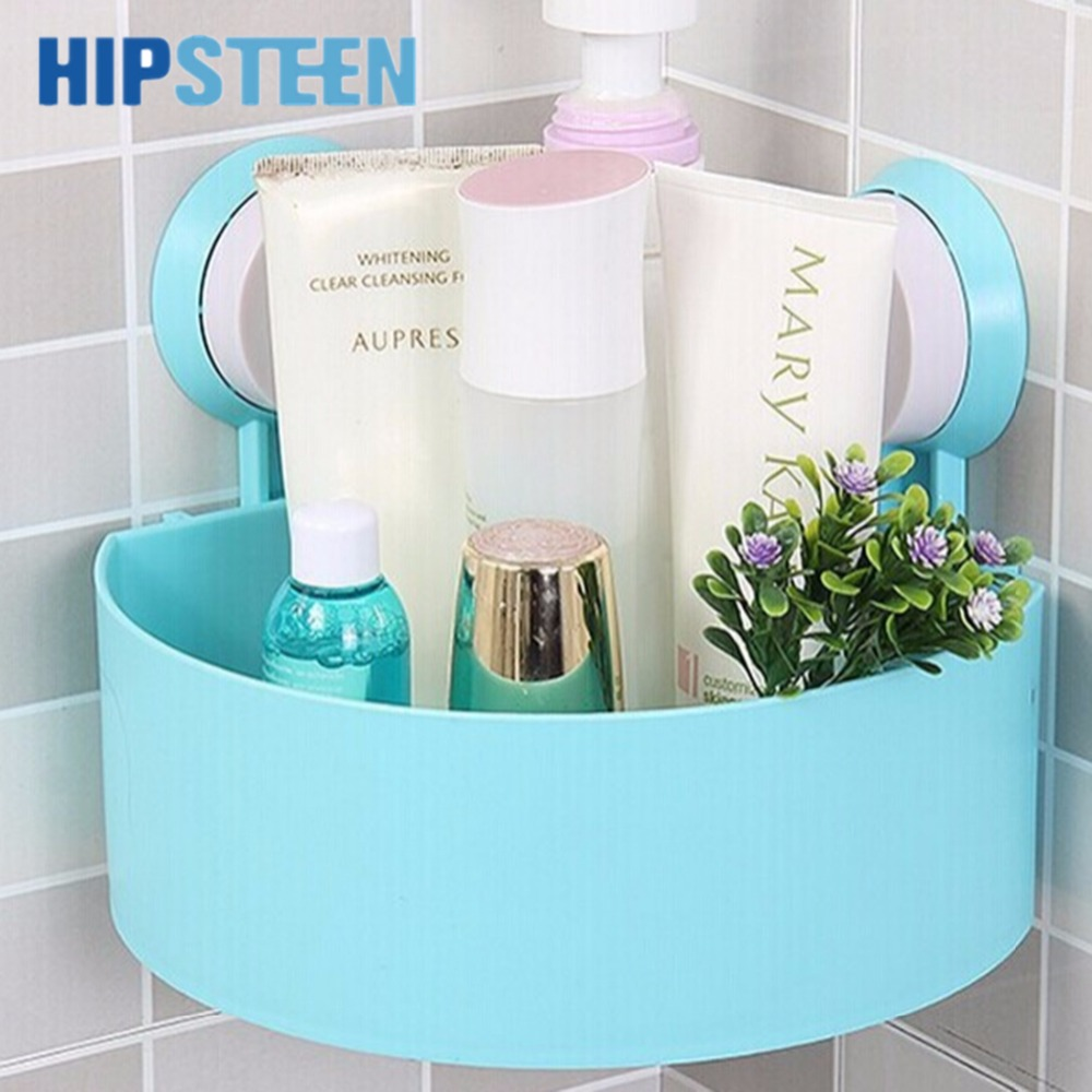 Sucker Edge Plastic Organizer Net Box Kitchen Sink Bathroom Shelf ...