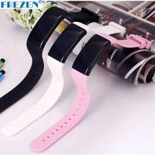 Frezen D21 Смарт часы bluetooth сердечного ритма браслет Фитнес трекер Pulsera спортивный браслет шагомер для iOS и Android