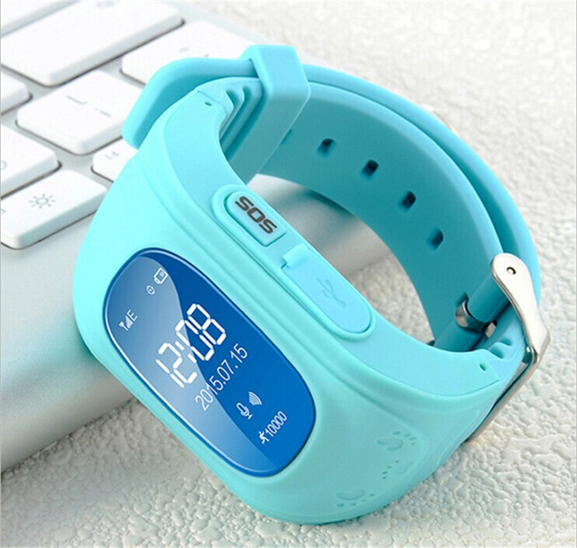 YourTribe Q50 Smart Phone GPS Watch Kids OLED Q50 GSM GPRS Locator Tracker Anti Lost Kids