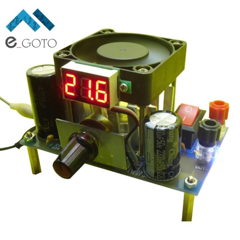 DIY LM338K 3A Step Down Power Supply Module for Arduino Raspberry pi Buck Converter Board DIY Kit AC 1-25V DC 3-35V To 1.2-30V