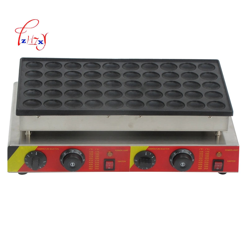 Commercial waffle baker NP-544 small muffin machine 50-holes Waffle machine electric Waffle Maker Machine 220v/110v 1pc