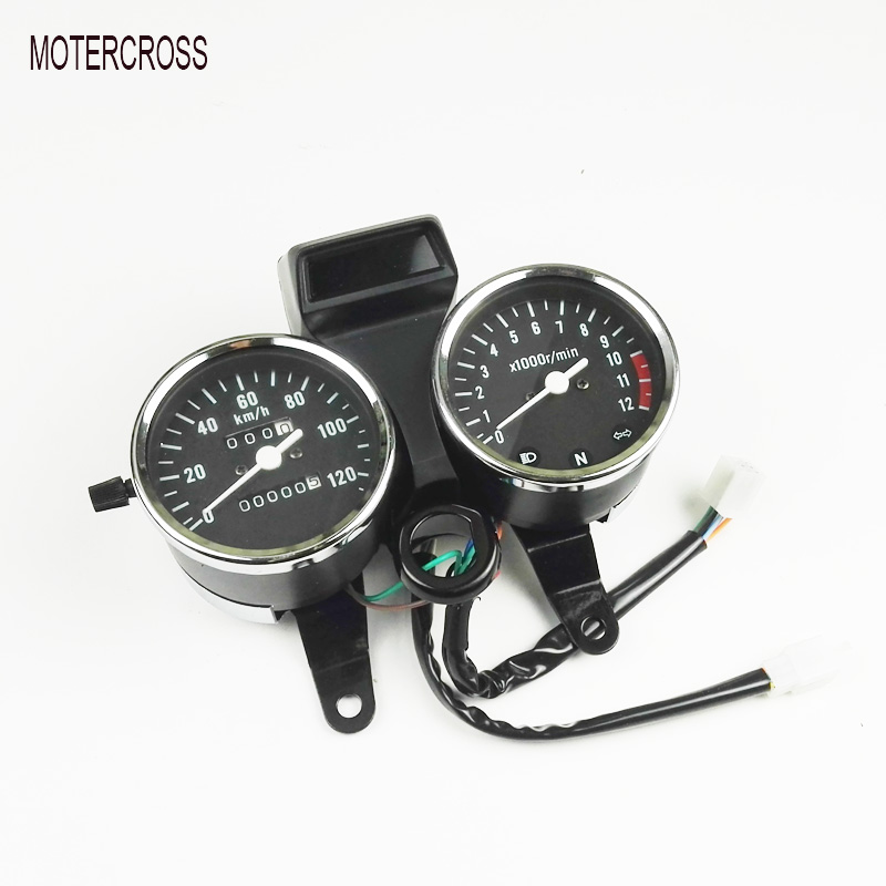 MOTERCROSS Original Motorcycle Speedometer Tachometer For Suzuki GN125 Instrument Assembly Mechanical File Or Electronic File