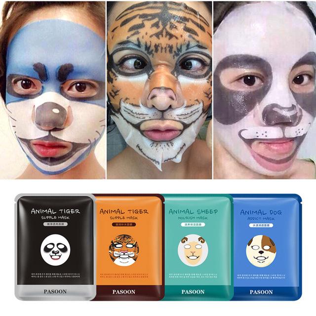 Animal Themed Deep Moisturizing Oil Control Face Mask Sheet