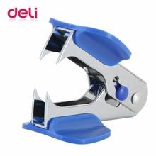 Deli 1 шт. металлический штапель NO12 для офиса, для маникюра, съемник для ногтей, мини эффективный, экономичный, хорошее качество, стандартный степлер 0231