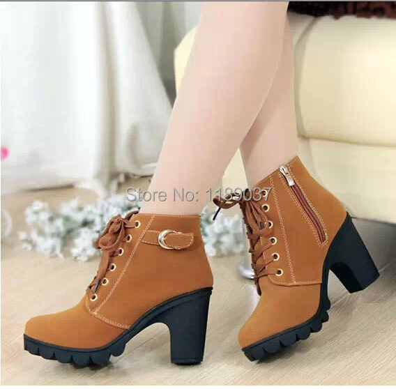 Aliexpress.com : Buy New Autumn Winter Women Boots High Quality ...