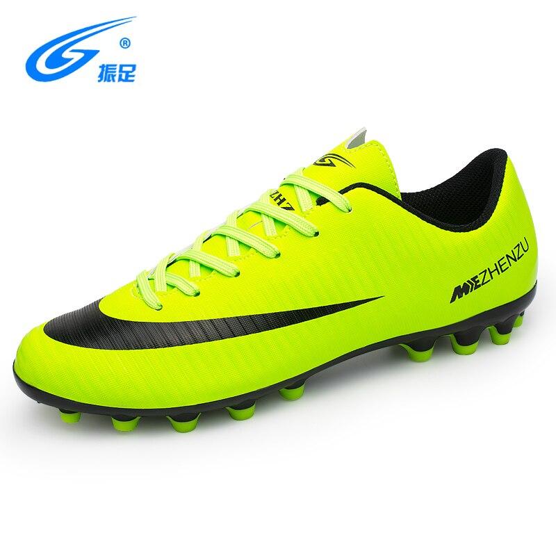dfd2763e5a1 ZHENZU New Football Boots Cleats Soccer Shoes Men Kids Boys Chuteiras botas  de futbol voetbalschoenen chaussure foot Chuteiras-in Soccer Shoes from  Sports ...