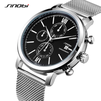 Stainless Steel Smart Watch Men MultiFunction Quartz Sport Wrist Watch Waterproof Top Brand Fashion Casual Luxury Clock