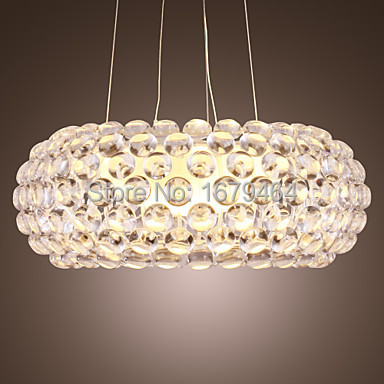 Livraison gratuite 200 W suspension moderne Foscarini Design ampoule incluse 1 lumière 200 W blanc livraison gratuite