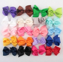Yundfly 3 120pcs Ribbon Bows For Girls Headbands Hair Clips Hairpin Chidlren Women DIY Accessories