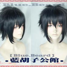 FF15 Final Fantasy XV Noctis Lucis Caelum Black Cosplay Wig Short Hair for Men Women