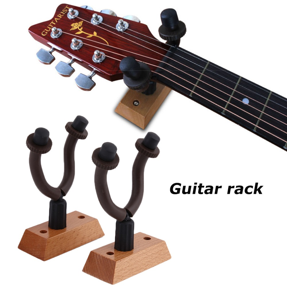 perfect guitar hanger hook holder wall mount stand rack bracket display for guitars bass easy to. Black Bedroom Furniture Sets. Home Design Ideas