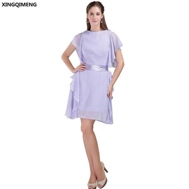 Sexy purple cocktail dress
