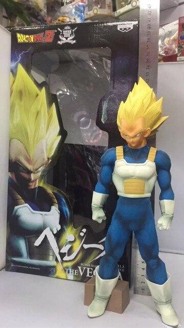32 cm tamanho grande Dragon Ball Z Vegeta Anime Action Figure PVC Nova Coleção figuras de Coleta de brinquedos para presente de Natal