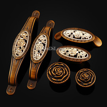 Top Desiged 10PCS Furniture Handles European Antique Carved Drawer Wardrobe Cupboard Closet Cabinet Kitchen Pull Handles & Knobs 10pcs hidden handle kitchen cabinet drawer handles european furniture wardrobe closet knobs cupboard cabinet knob shoes box pull