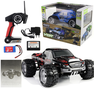 WL Toys High Speed RC car 1:18 Full Proportional 2.4G Remote Control Car 4WD Off-road Vehice A979 RC Car 45KM/H Drift Bajas top high speed full teeth piston