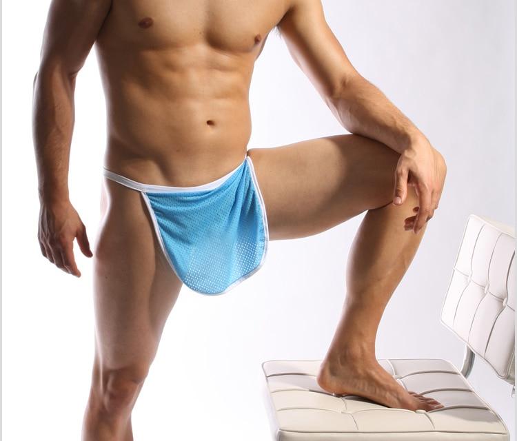 New Sissy Pouch Panties Lace Gay Men Bikini Briefs Knickers Underwear Size