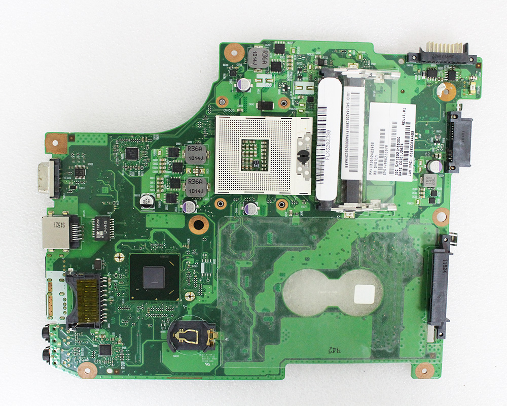 V000238070 For Toshiba C600 Laptop Motherboard 6050A2423901-MB-A02 100% Work Perfect
