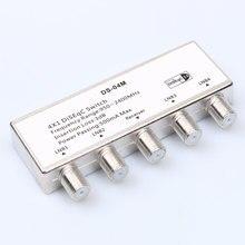 2016 Novo Interruptor de DiSEqC 4x1 Interruptor DiSEqC satélite LNB Mudar para Receptor de TV antena plana(China (Mainland))