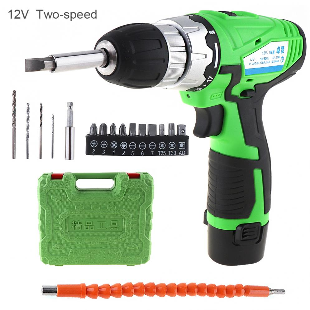 AC110-220V Handling Screws/Punching Cordless 12V Rechargeable Lithium Electric Drill Tool with Batch Head and Flexible Shaft post harvest handling and processing of mango